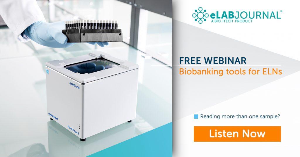 Webinar Biobanking Tools for ELNs